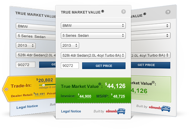 True Market Value >> The Edmunds Api Widgets